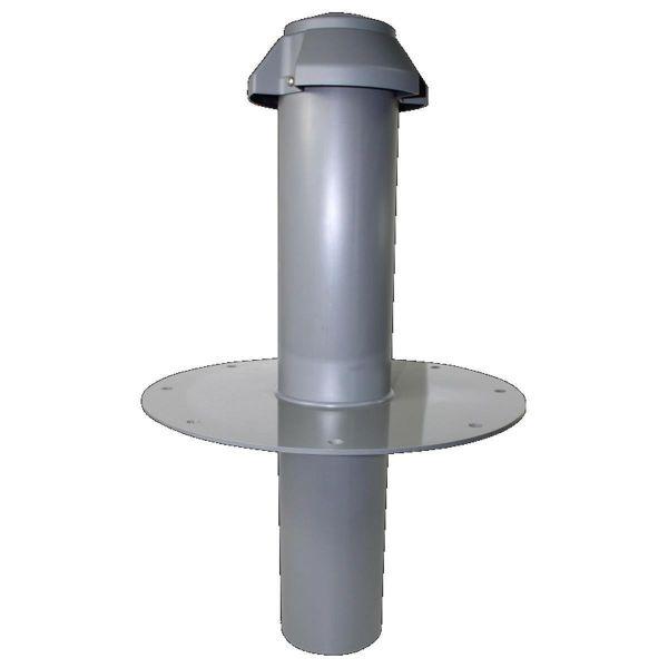 ATLAS Flachdach-Dunstrohr PVC bis 300 mm Dämmstoffdicke