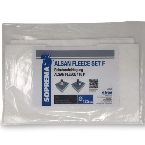 ALSAN PMMA Vlies | 110 P | Set F für Rohrdurchdringungen 125 mm
