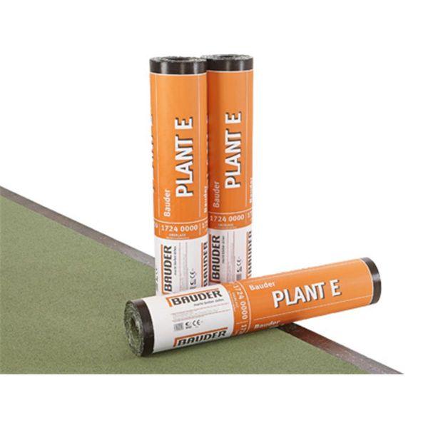 Bauder PLANT E Schiefer/Folie | Abm.: 5 m x 1,0 m (5 m²/Rolle) | 24 Rollen/Palette