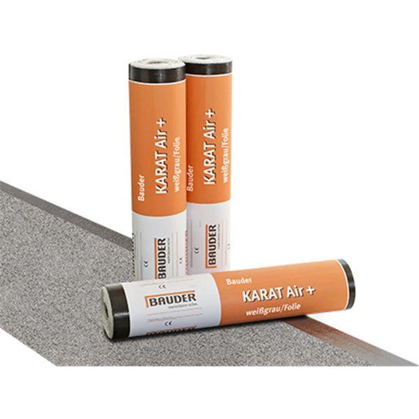 Bauder KARAT Air+ Schiefer/Folie | Abm.: 5 m x 1,0 m (5 m²/Rolle) | 24 Rollen/Palette