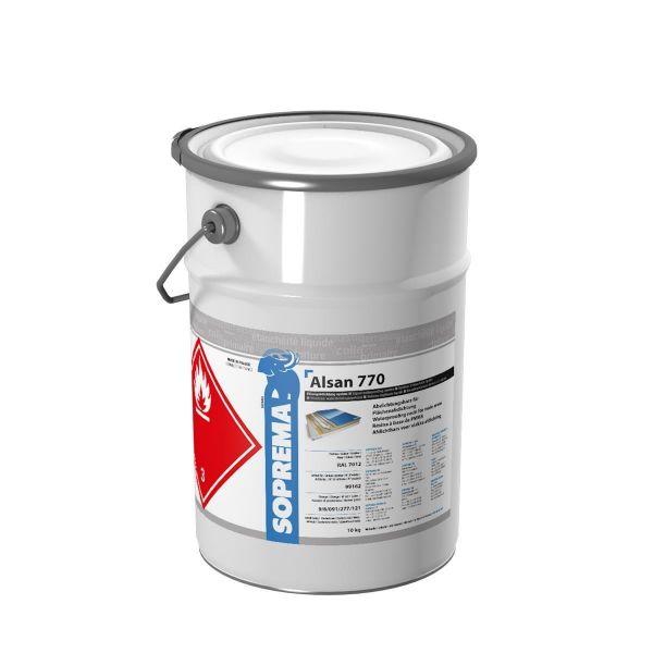 ALSAN 770 Fläche   PMMA Flüssigkunststoff für Flächenabdichtung inkl. Katalysator   10,0 kg/Gebinde