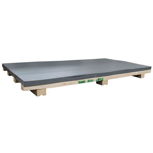 Bauder THERMOPLAN / THERMOFIN | Verbundblech | Dicke 1,4 mm | Beschichtung 0,8 mm | 2000 x 1000 mm