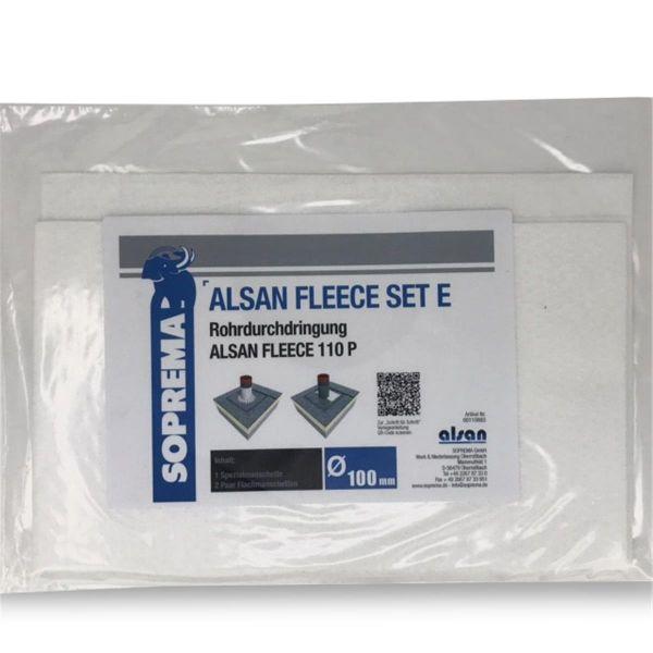 ALSAN PMMA Vlies | 110 P | Set E für Rohrdurchdringungen 100 mm