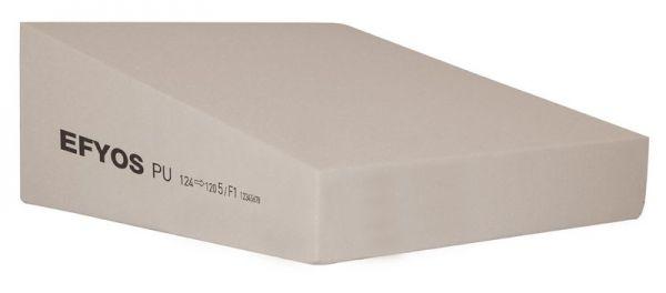 EFYOS Gefälle | PIR WLS 026 / 028 DAA ds = 150 kPa | Abm.: 1.200 x 1.200 mm | Kaschierung: unkaschie