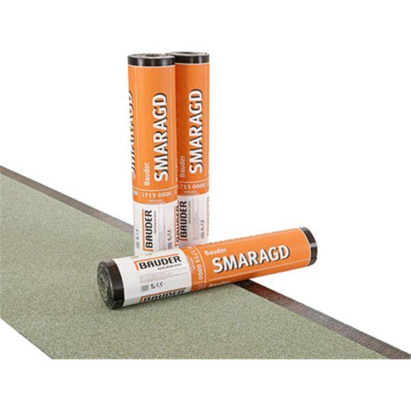 Bauder SMARAGD Schiefer/Folie | Abm.: 5 m x 1,0 m (5 m²/Rolle) | 24 Rollen/Palette