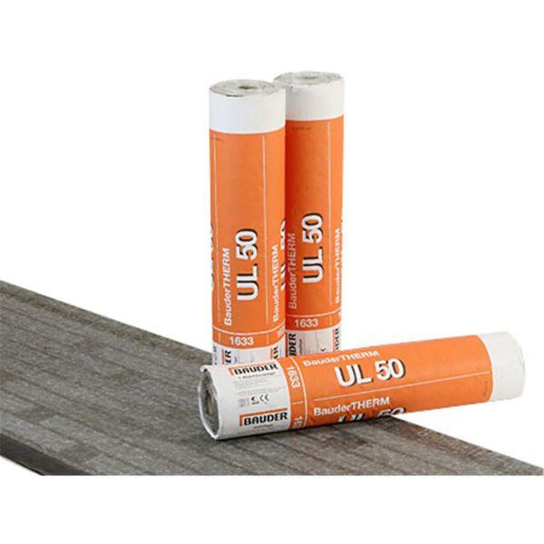 Bauder UL 50 Vlies/THERM-Streifen   Abm.: 7,5 m x 1,0 m (7,5 m²/Rolle)   20 Rollen/Palette