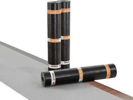 Bauder SUPER AL-E PLUS naturschiefer/Folie | Abm.: 5 m x 1,0 m (5 m²/Rolle) | 30 Rollen/Palette
