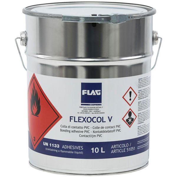 SOPREMA FLEXOCOL V | PVC-Kontaktkleber | 10 l / Gebinde