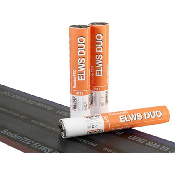 Bauder ELWS DUO Folie/Abziehfolie | Abm.: 7,5 m x 1,0 m (7,5 m²/Rolle) | 24 Rollen/Palette