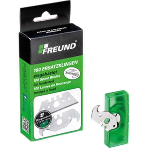 Freund® Hakenklingen | made in Solingen | 100 Stück / Paket